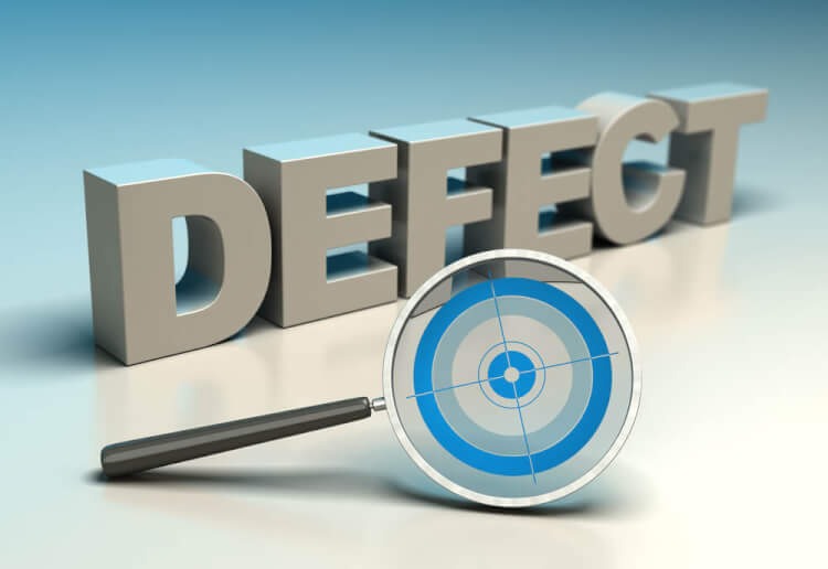 Defective product detection